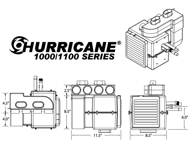 Hurricane 1000 Inside Package Autoware