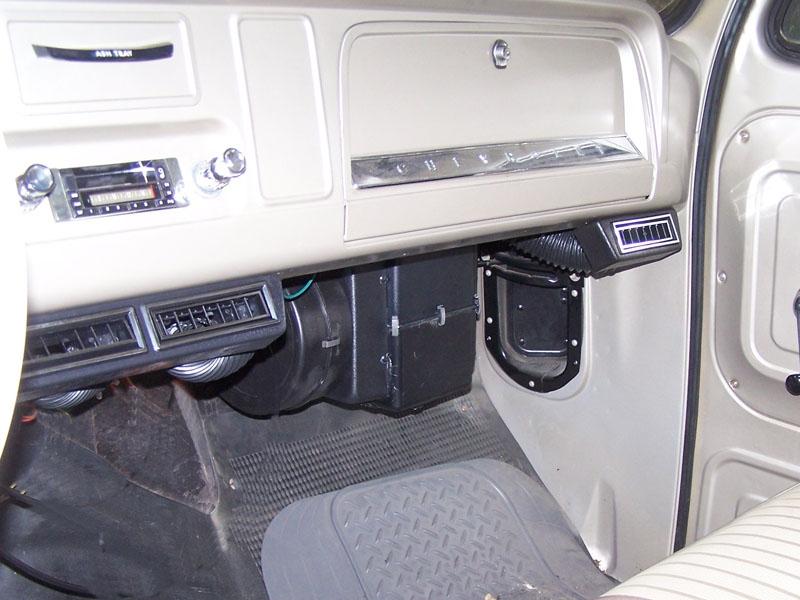 A C Unit Inside Package 1964 66 Pickup Autoware