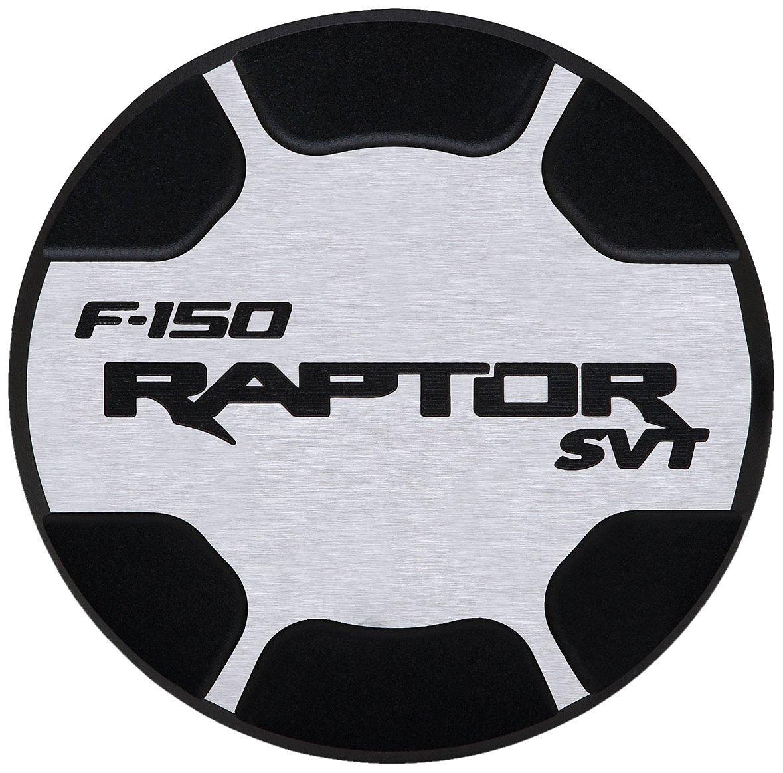 Billet Aluminum Two Tone Fuel Door Ford Raptor Autoware