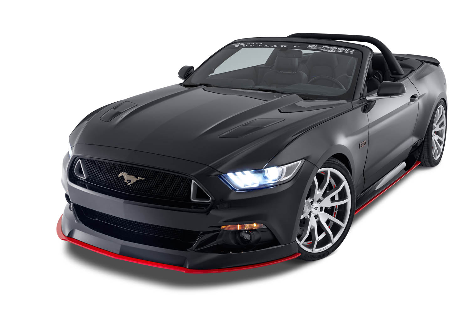 2017 Roush Mustang >> Outlaw Front Chin Spoiler - Autoware