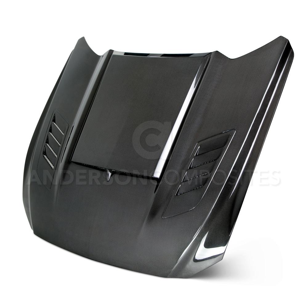 Ram Air Double Sided Carbon Fiber Bonnet
