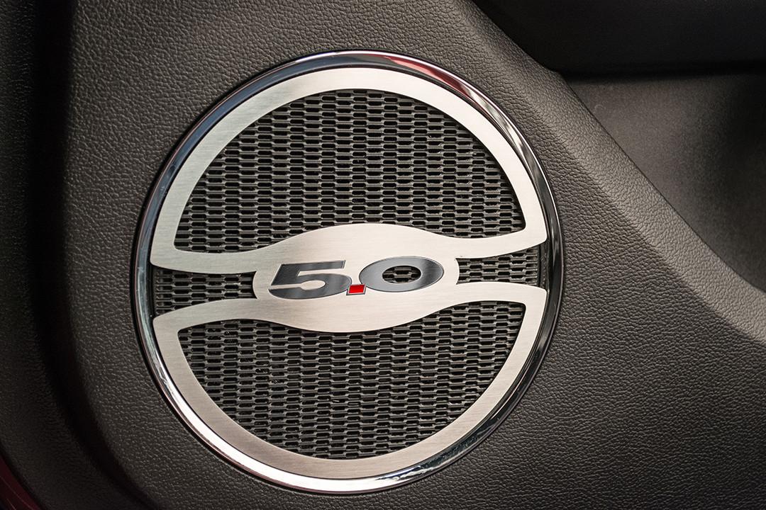 5 0 lower door speaker trim autoware. Black Bedroom Furniture Sets. Home Design Ideas