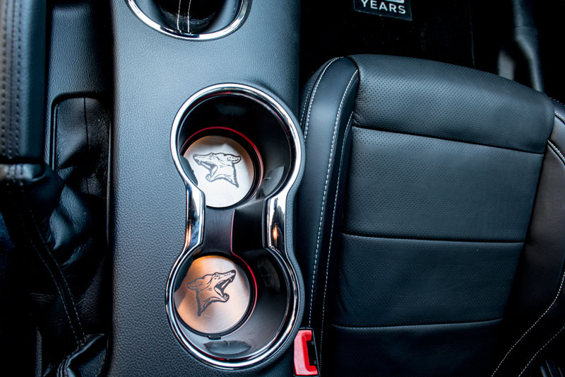 Cup Holder Insert-Stainless Steel-Coyote - Autoware