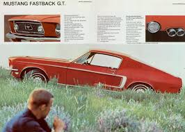 67-68 Mustang