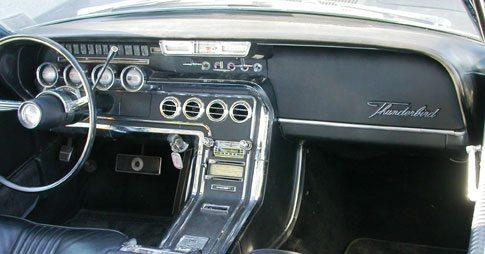 Ford Thunderbird Center Louver