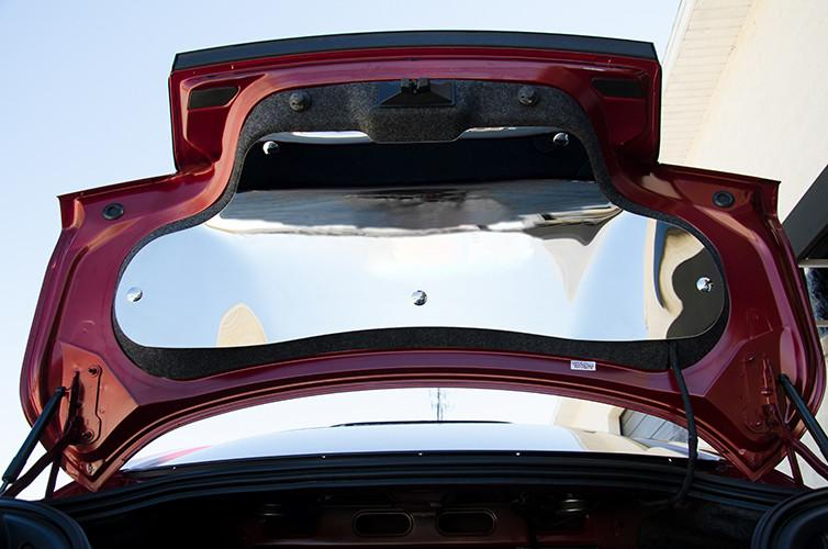Boot Trunk Lid Panel Polished Stainless Autoware