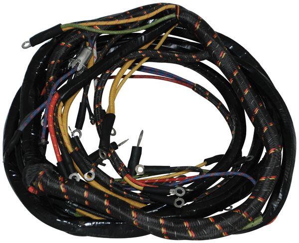 1948 50 dash wiring harness 6 cyl lft autoware. Black Bedroom Furniture Sets. Home Design Ideas