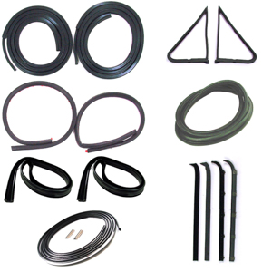 1980 86 Weatherstrip Seal Kit W Trim Groove Autoware