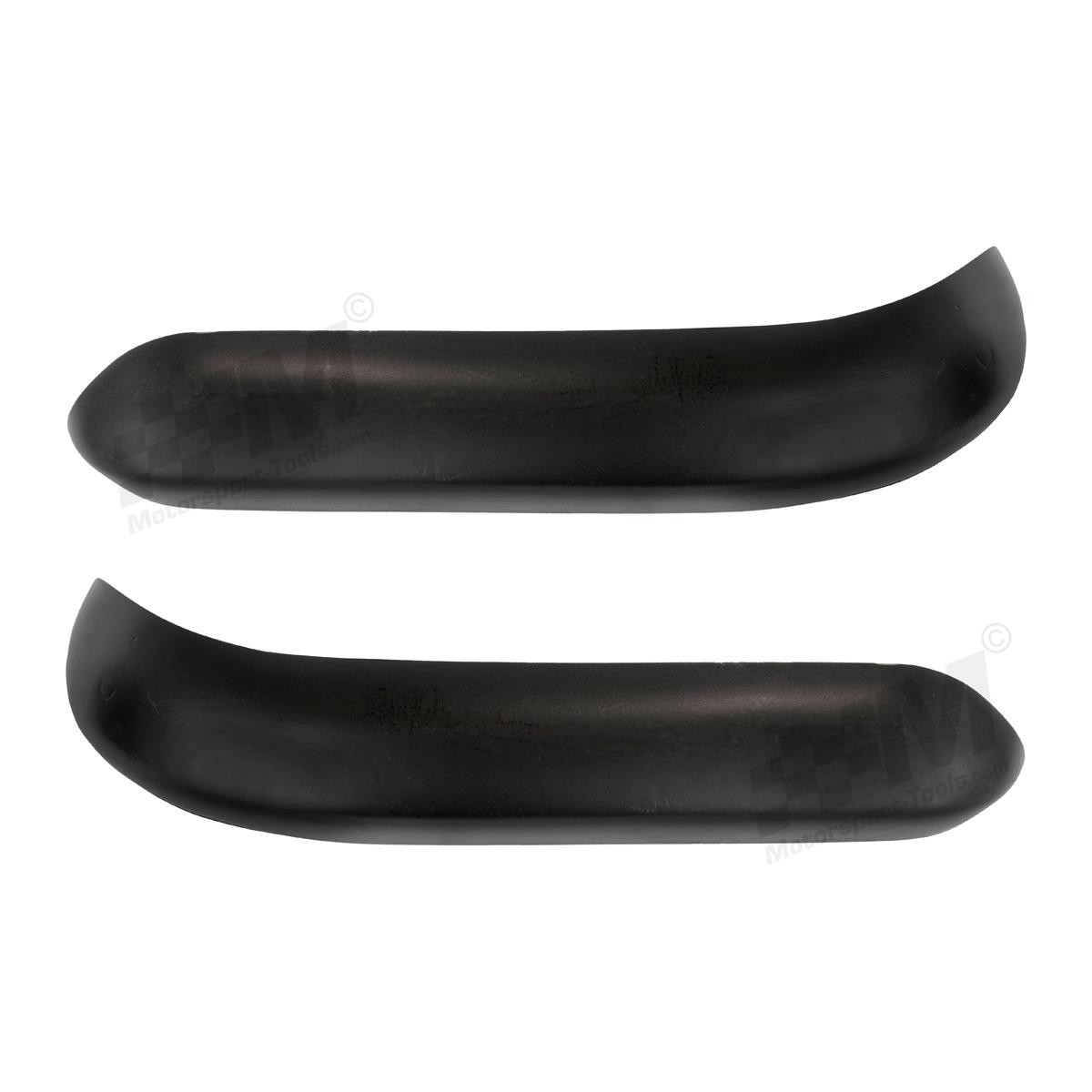 Escort Mk2 Carbon Composite Front Quarter Bumpers PAIR Carbon Fibre Glass Bumper